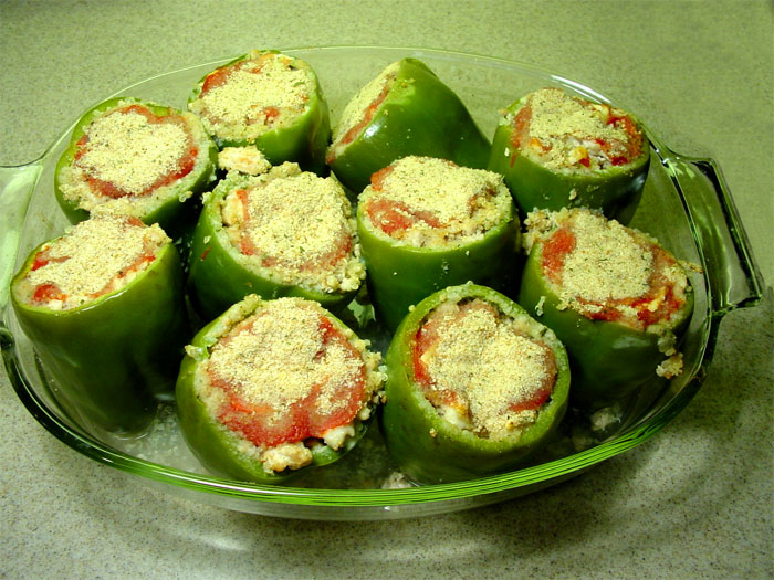 Quinoa Stuffed Peppers Recipe